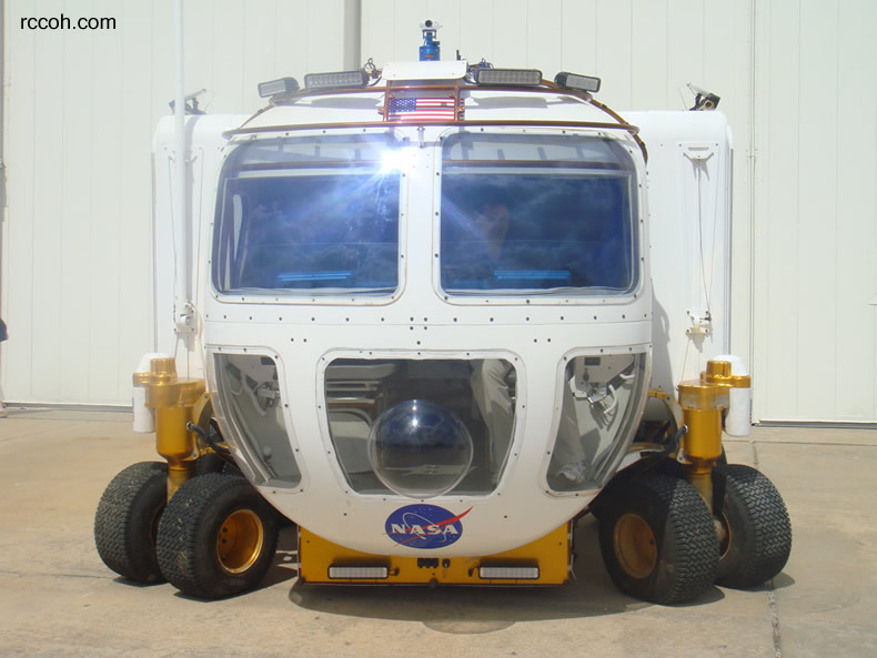 NASA Electric Lunar Rover