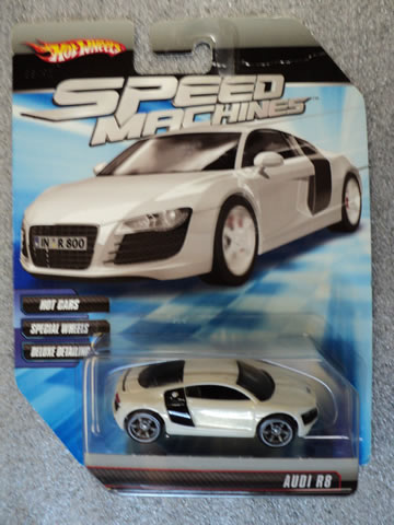 Speed Machines Audi R8 White