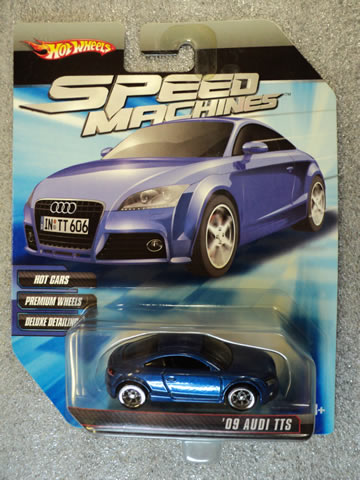 Speed Machines Audi TTS Blue