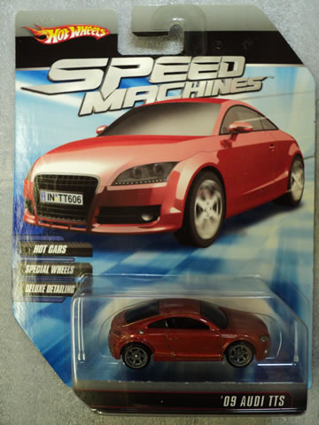 2010 Speed Machines - Audi TTS - Red
