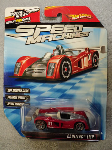 2010 Speed Machines - Cadillac LMP Red