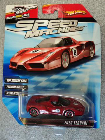 Speed Machines Enzo Ferrari Red