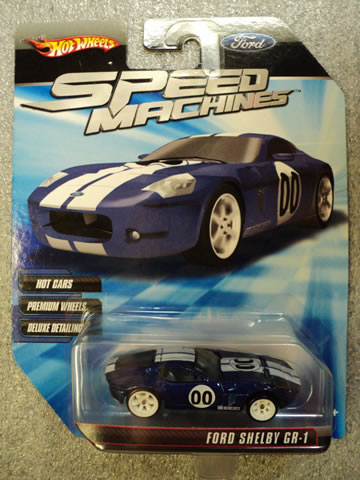 Ford Shelby GR-1 Blue