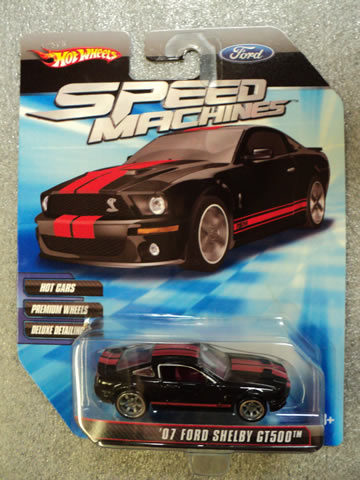 '07 Ford Shelby GT500 Black