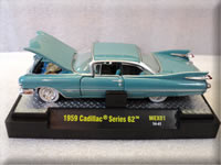 Mexico Release Vegas Turquoise 1959 Cadillac Series 62 M2