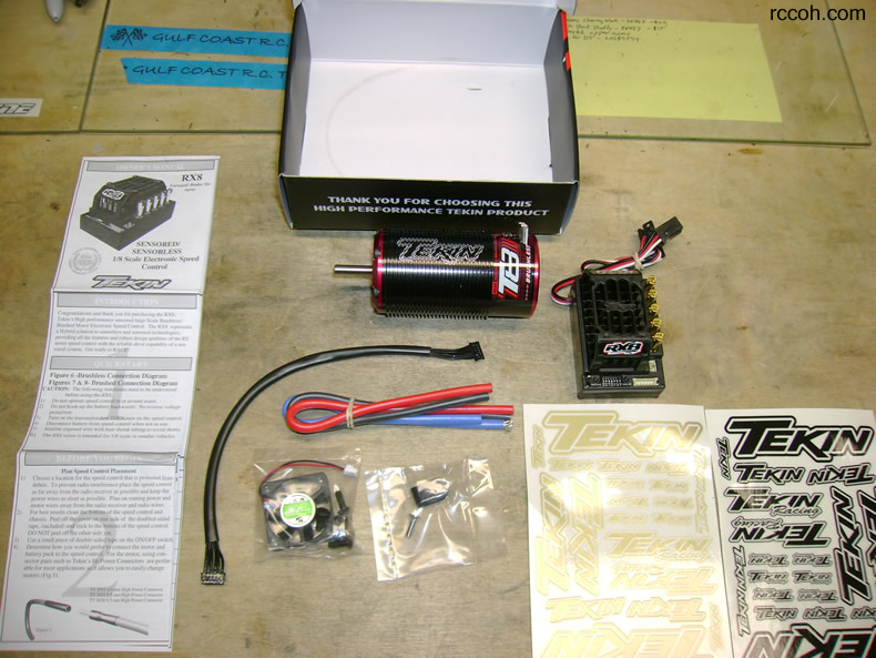 Tekin ESC / Brushless  Kit