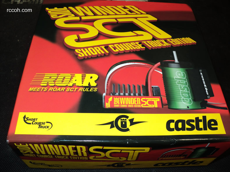 Castle SCT 3800 Brushless ESC Motor