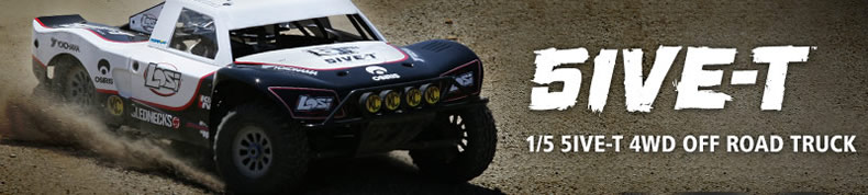 LOSI 5ive-T 4WD Truck