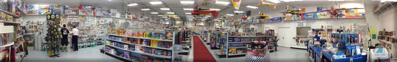 RC Hobby Shop 9400 sq ft inside