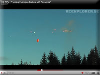 RC Helicopter Balloon Hunting