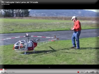 Quarter Scale Jet Powered Helicopter
