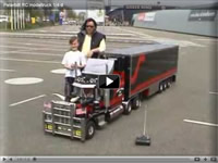 1/4 Scale Peterbilt RC Video