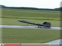Video of R/C SR-71 Blackbird